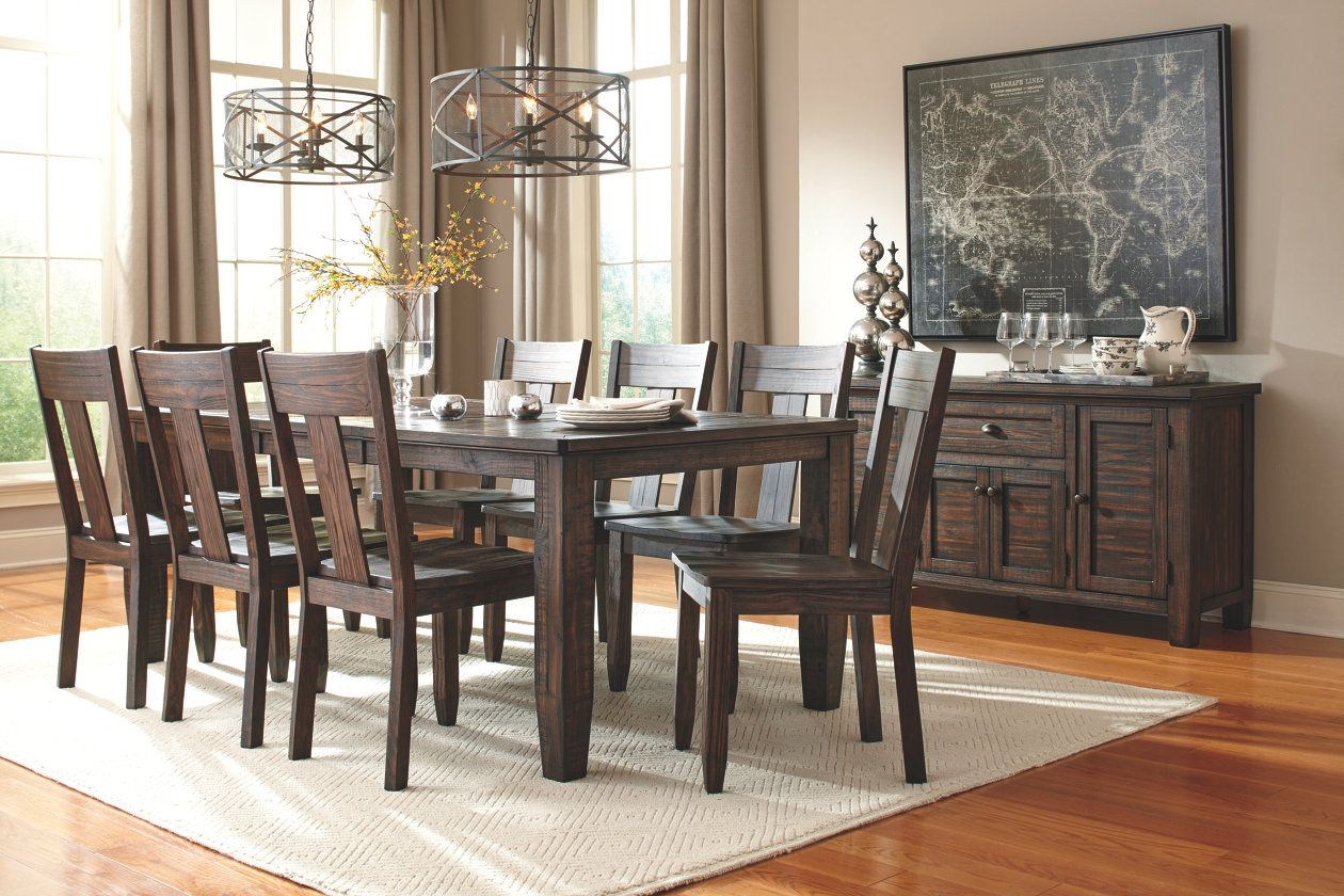 Trudell Dining Room Chair Ashley Furniture Homestore Indoor