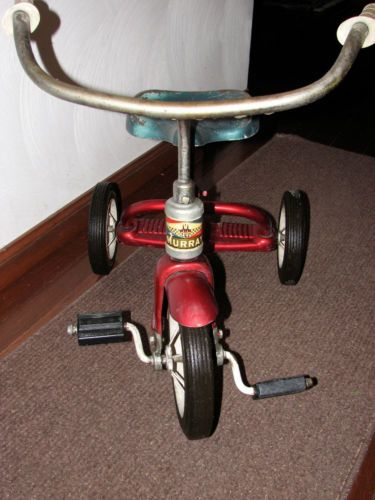 1950 S Red Vintage Murray Tricycle Projects Pops