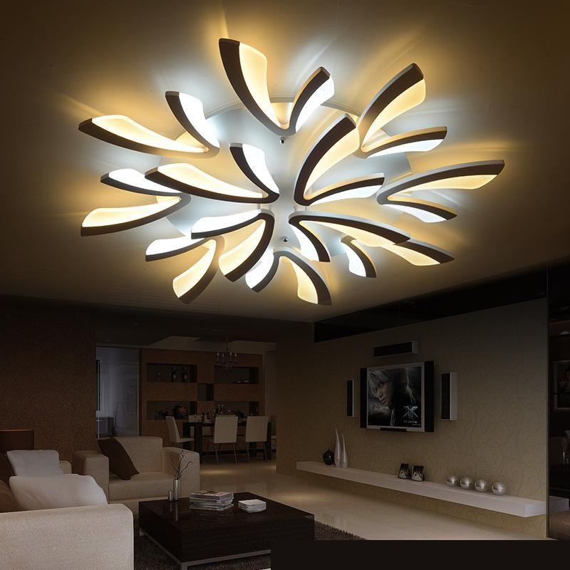 110v 220v Modern Led Ceiling Light Moderne Deckenleuchte Outdoor