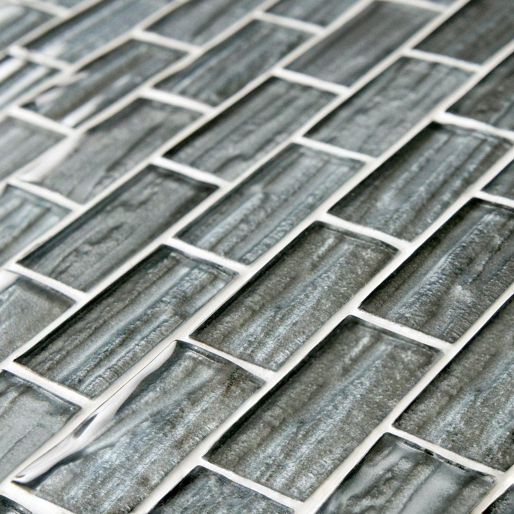 Discount Glass Tile Store Somer Tile Aspen Blue Subway Glass Tile Series 1 X 2 13 49 Per Sheet Sheet Mosaic Glass Merola Tile Mosaic Wall Tiles