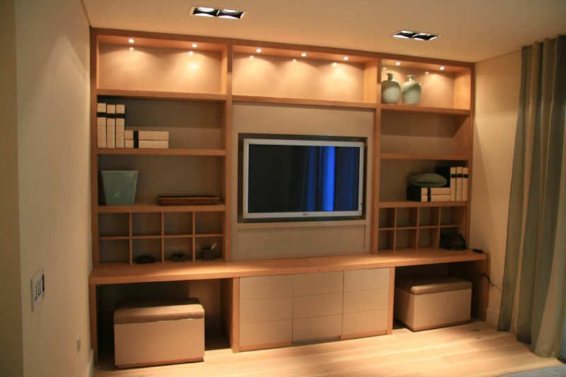 Entertainment Units designed and built by Newood Joinery | House ...
