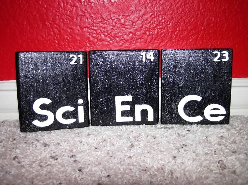Periodic table wooden blocks for a science teacher teacher gifts periodic table wooden blocks for a science teacher urtaz Image collections