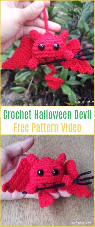 Crochet Halloween Devil Free Pattern -Crochet Halloween Amigurumi ...