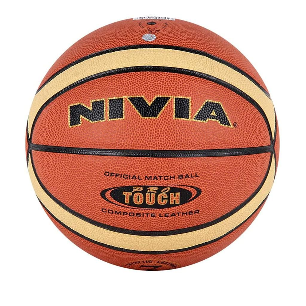 Nivia Pro Touch Size 7 Basket Ball Basketball Bag Basketball Basketball Ball