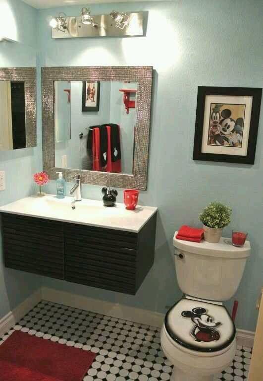 Mickey Mickey Mouse Bathroom Mickey Bathroom Girl Bathroom Decor