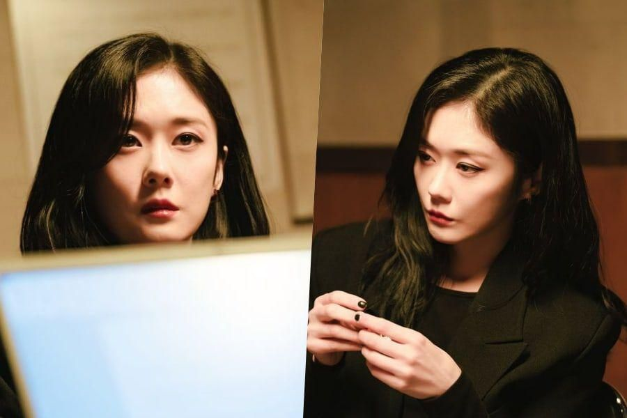 """Jang Nara Shows Her Cold Charisma Even In A Police Investigation In """"Sell Your Haunted House"""""""