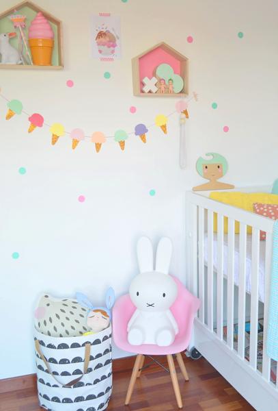 Crea tu propio diy para decorar habitaciones de ni os divertidas y econ micas decoraci n - Habitaciones infantiles economicas ...