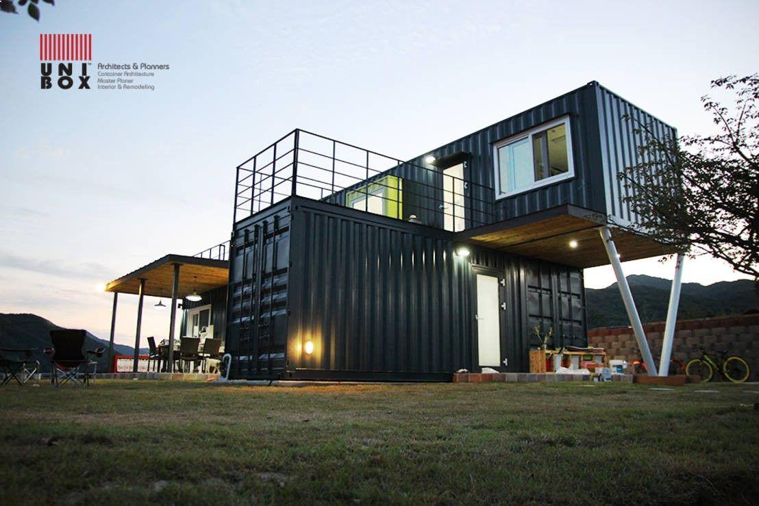 Container house des lieux de vie économiques et confortables who