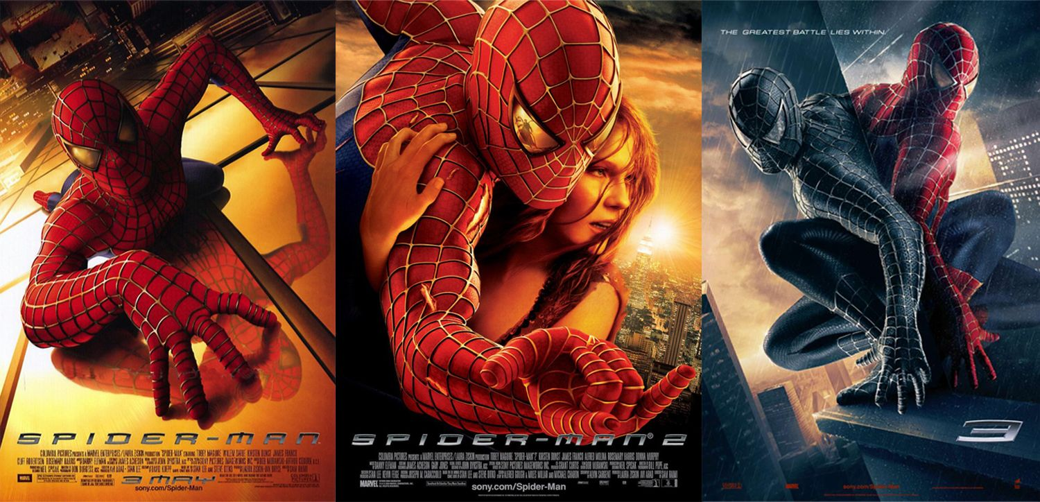 spider-man-trilogy-poster | Spider-man, Amazing spiderman, Clint barton