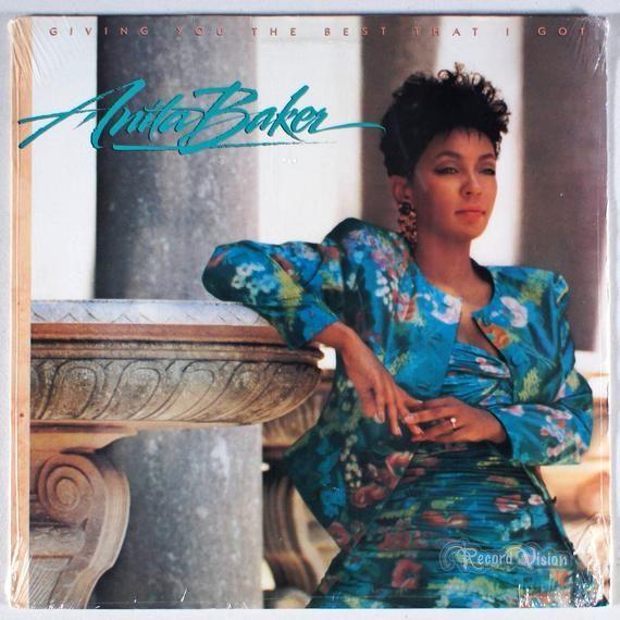 Anita Baker Giving You The Best That I Got 1988 Sealed Vinyl