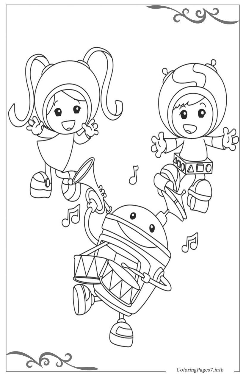 Team Umizoomi Free Printable Coloring Pages For Children Coloring Pages Printable Coloring Pages Team Umizoomi