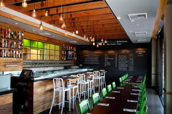 Inside Crow Burger Kitchen crow BURGER kitchen Pinterest