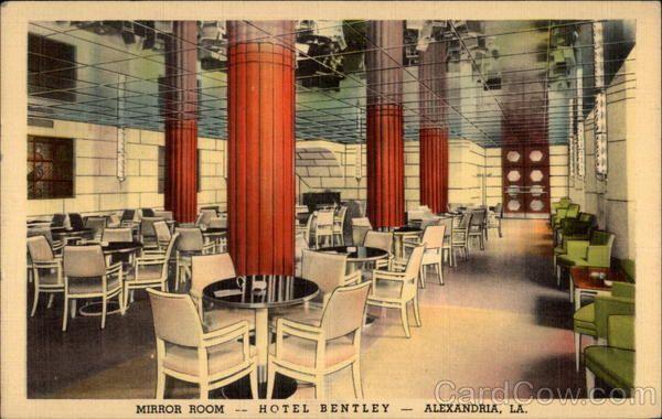The Mirror Room At Hotel Bentley Alexandria Louisiana