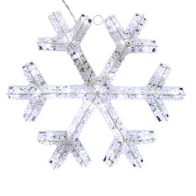 Outdoor lighted hanging snowflakes new house designs holiday living lighted snowflake hanging sculpture outdoor christmas aloadofball Choice Image