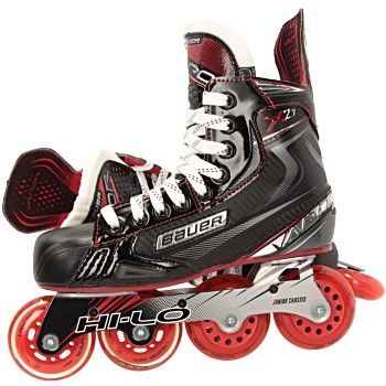 Bauer Vapor X2 7 Inlinehockey Skates Junior In 2020 High Top Sneakers Bauer Vapor Schuhe