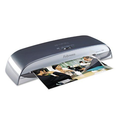 155 38 195 00 Baby Designed For Small Office Applications The Fellowes Saturn 125 Laminator Accommodates 12 1 2 Inches Laminators Laminated Machine Fellowes