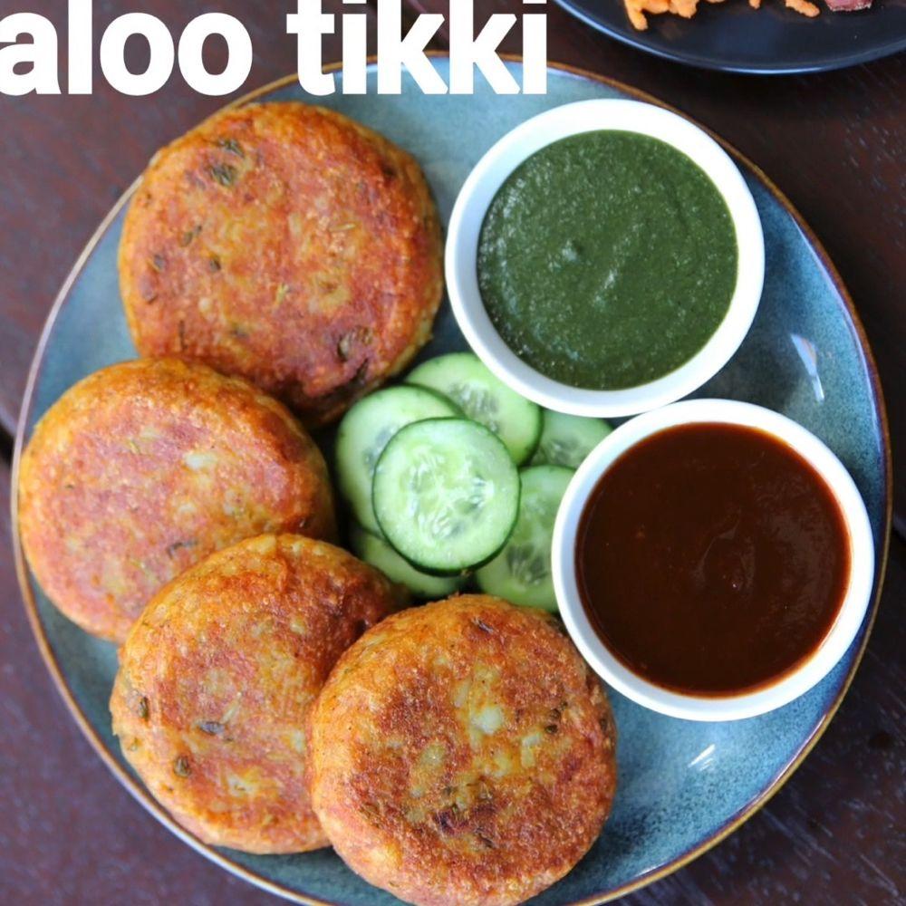 hebbar s kitchen on instagram aloo tikki or aloo patties recipe aloo tikki alu patties on hebbar s kitchen recipes aloo tikki id=46350