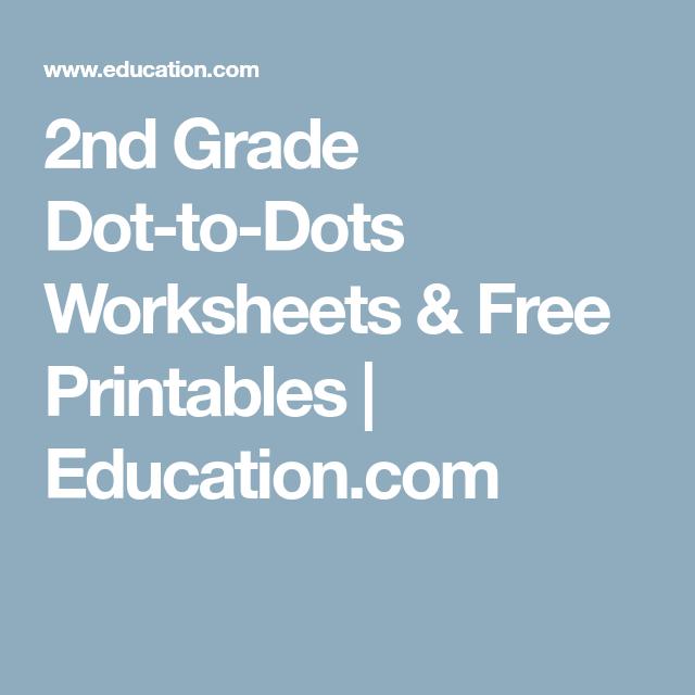 2nd Grade Dot-to-Dots Worksheets & Free Printables | Education.com ...