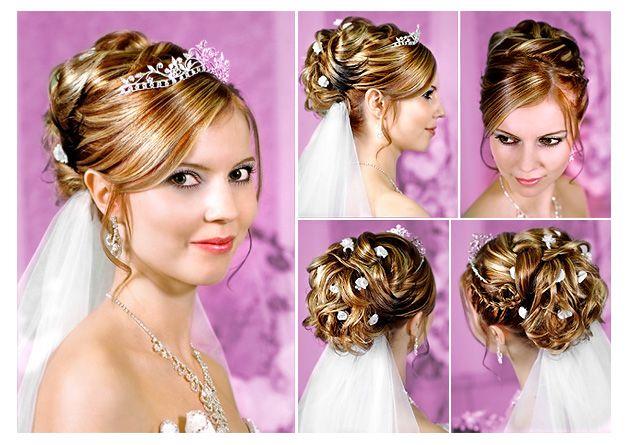 Brautfrisuren halblange haare ohne schleier