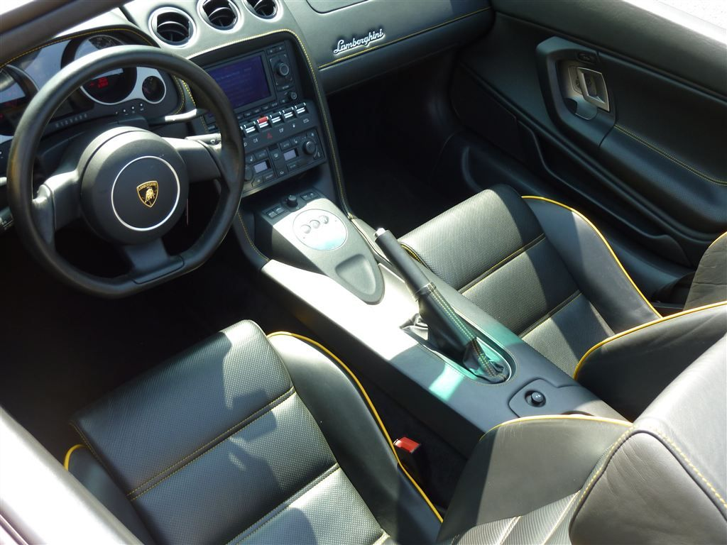 2006 Lamborghini Gallardo Spyder Interior Motion Vehicles Boat
