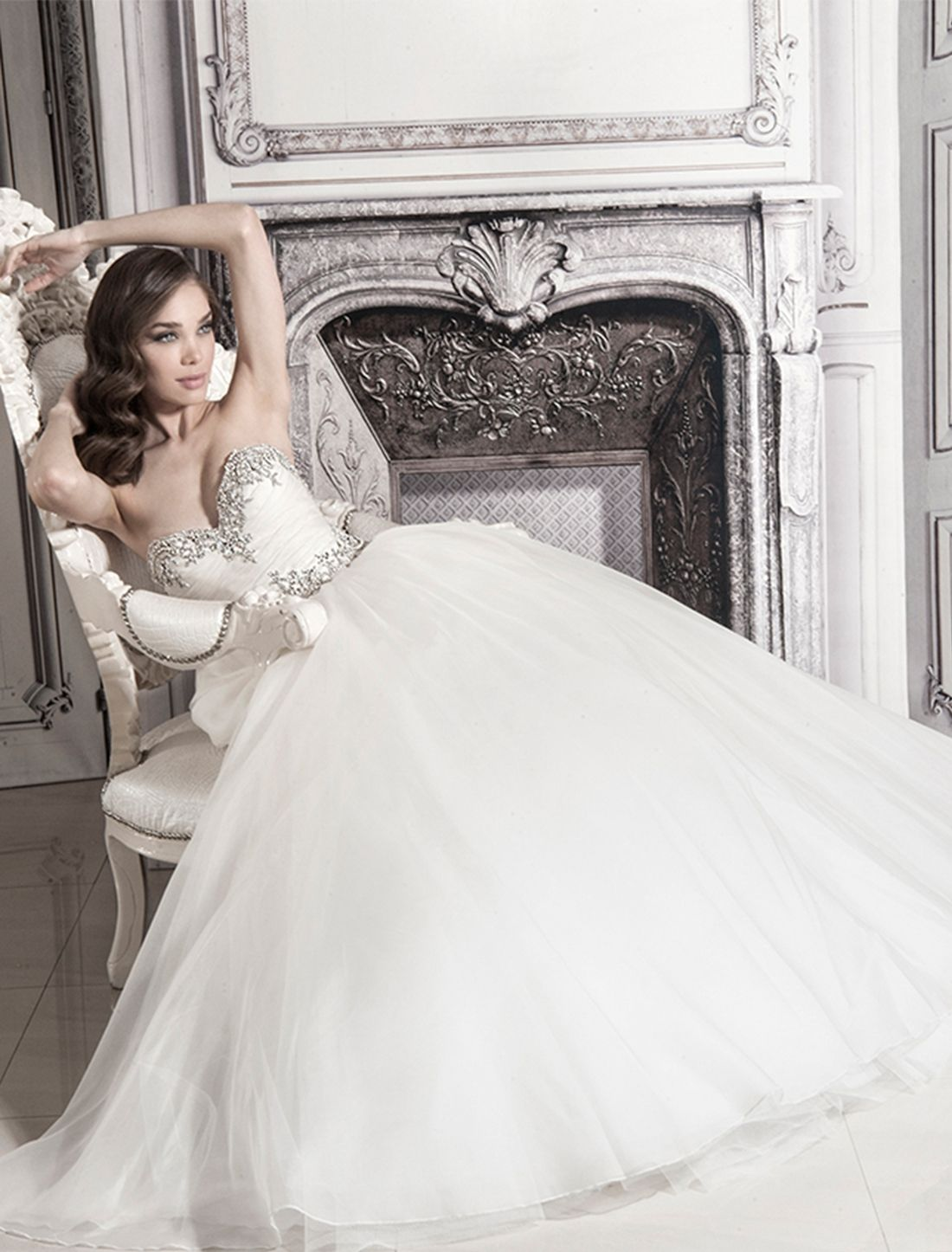 KleinfeldBridal.com: Pnina Tornai: Bridal Gown: 32848194: Princess ...