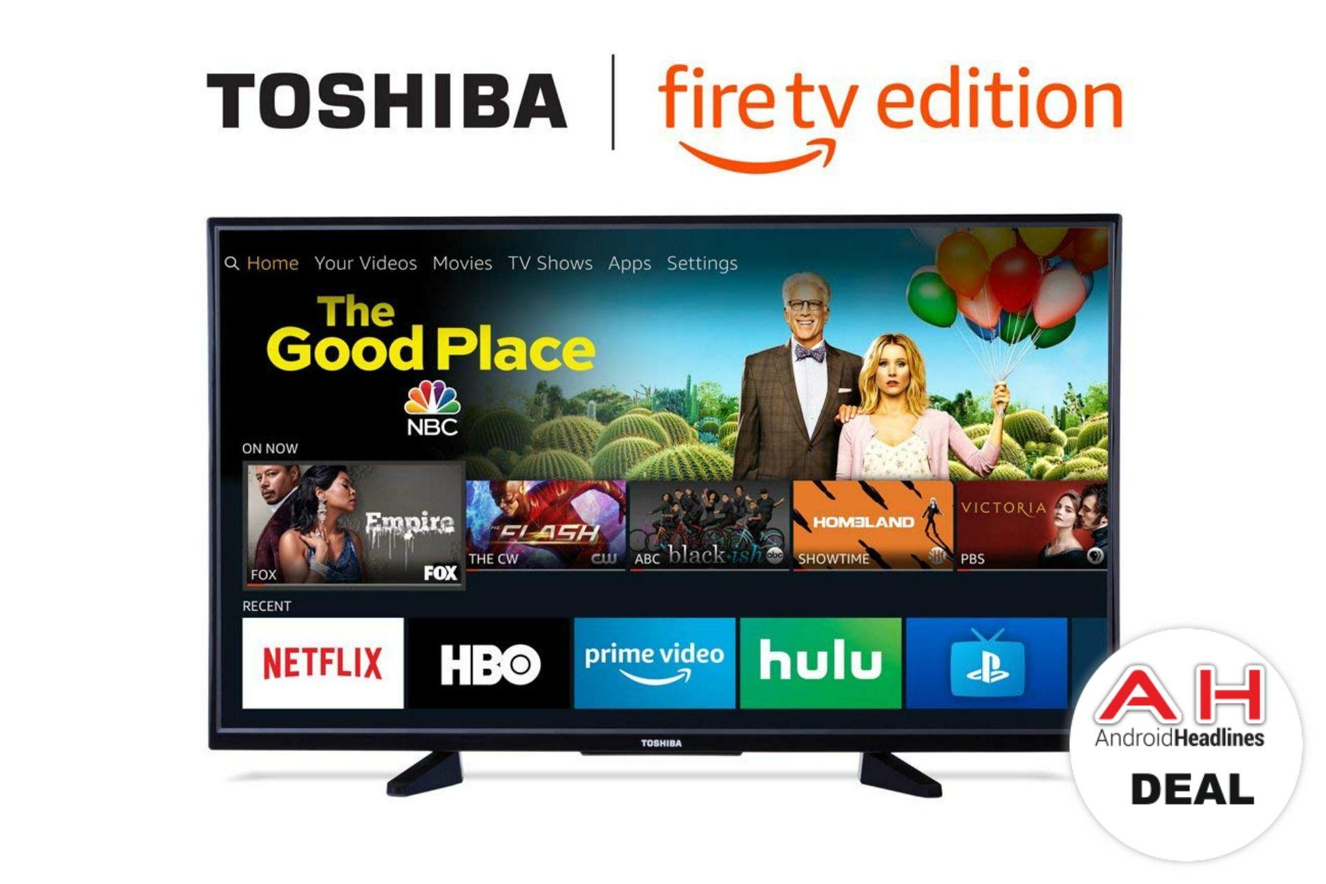 Deal Fire Tv Edition Toshiba 43 Inch 4k Ultra Hd Tv 249 99