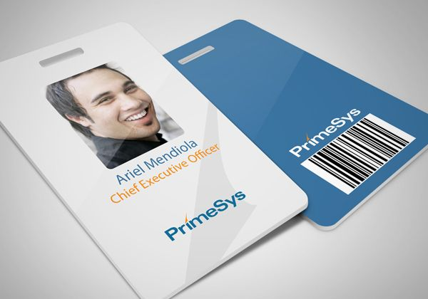 Id Badge Design Employees Card Employee Id Card Card Design