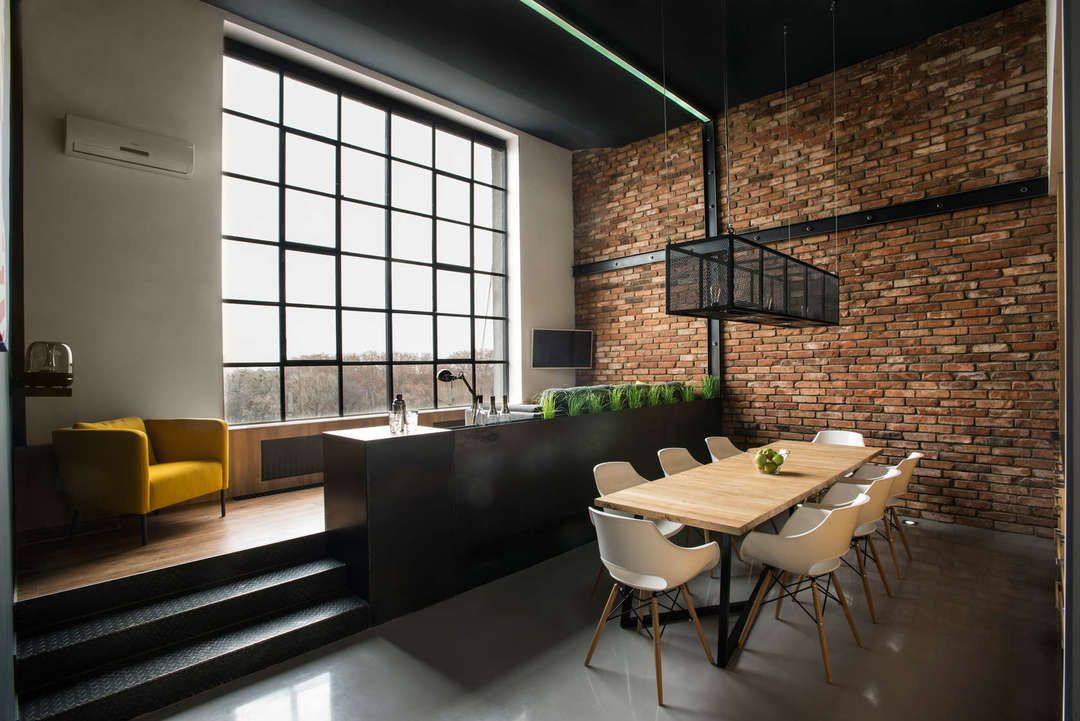 A Great Look For A Residence Workplace Retail Shop Or Hospitality Venue Industrial Can Sometimes Come Off As Loft Interior Design Loft Interiors Loft Design