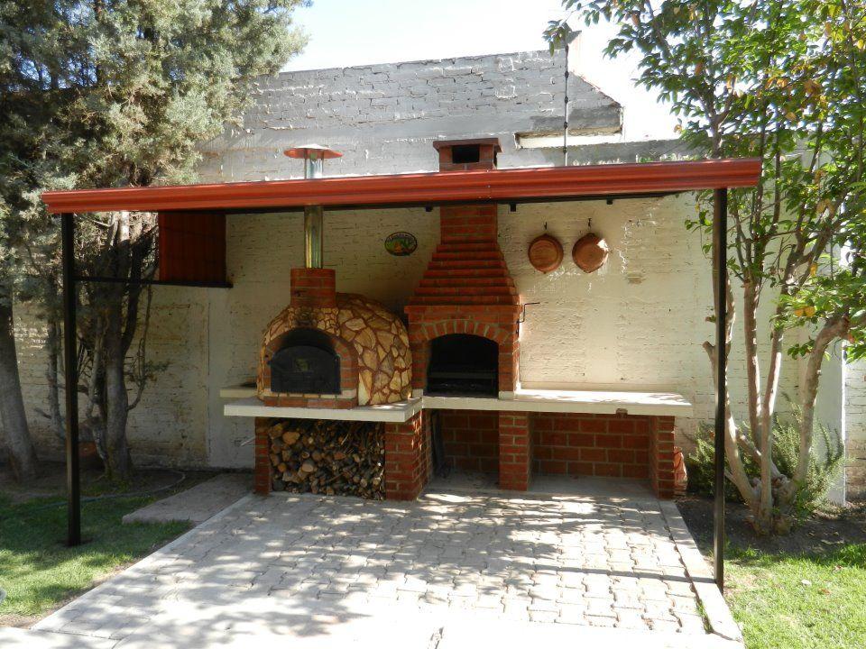 Pin de marcelo bogliolo en proyecto kichenet outdoor oven brick bbq y patio - Barbacoas rusticas ladrillo ...