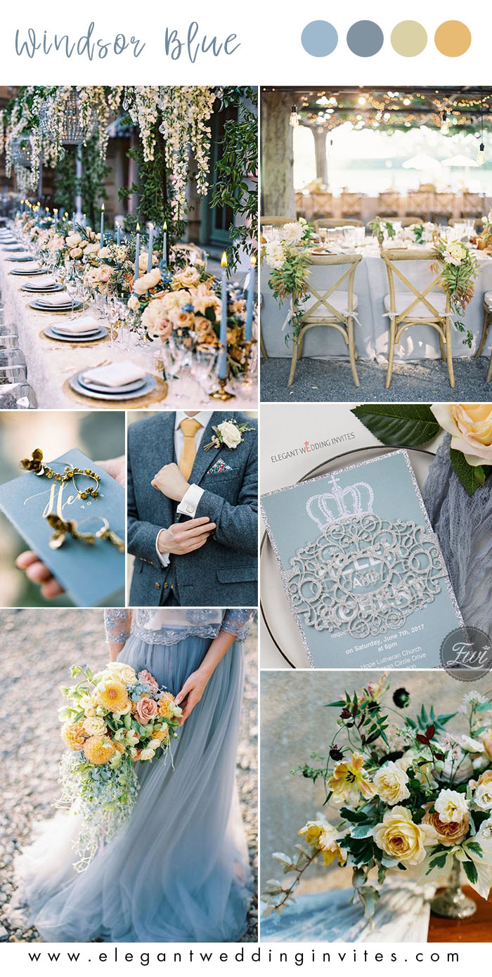 The Best 10 Blue Wedding Color Ideas To Inspire In 2020 Part 1 Elegantweddinginvites Com Blog Yellow Wedding Theme Wedding Colors Blue Wedding Theme Colors