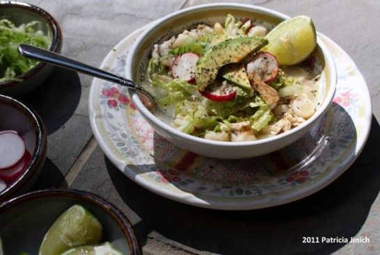 how to cut cabbage for pozole