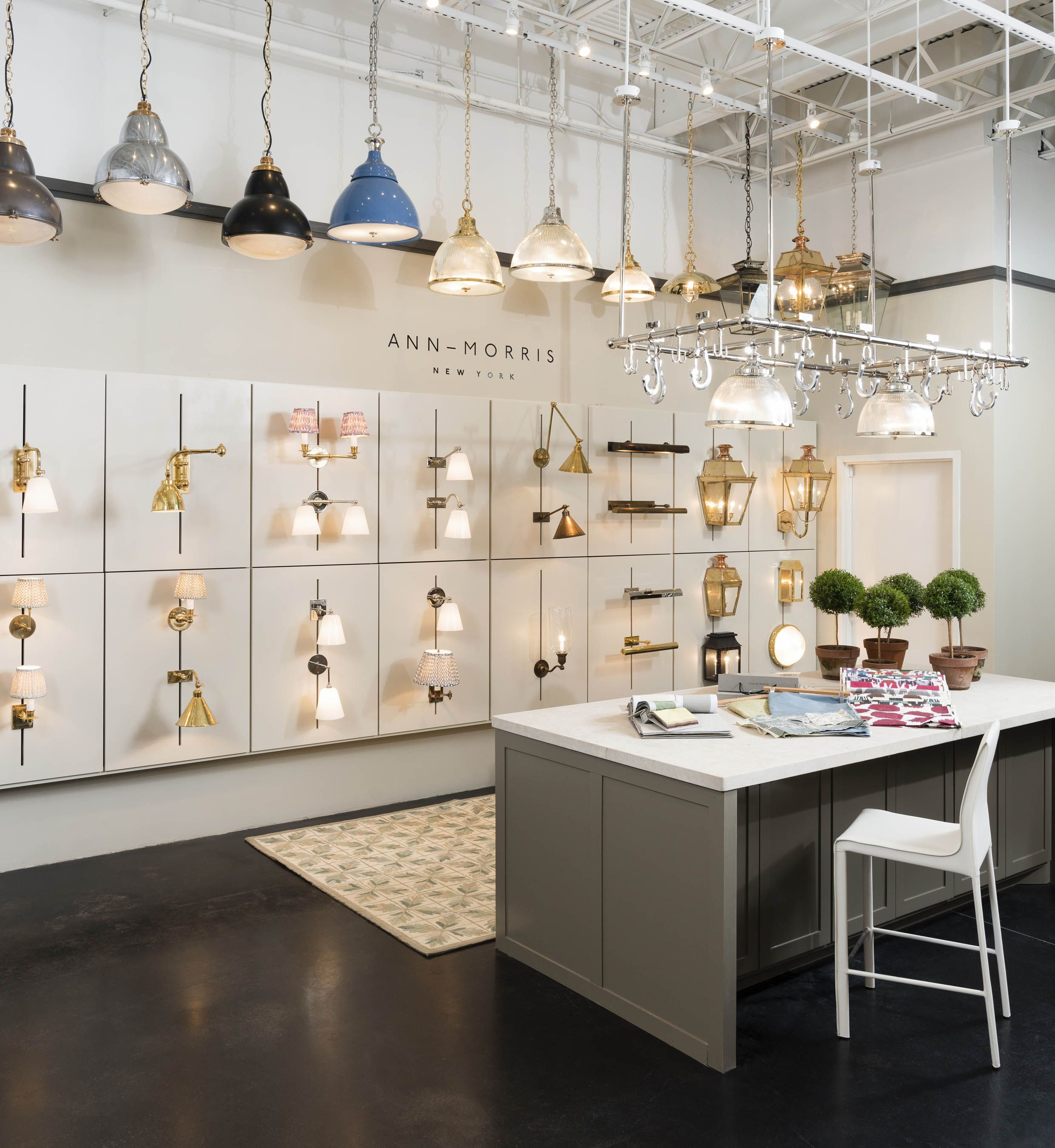 the anna morris new york display in the