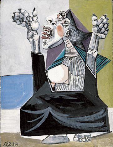 La Suppliante - Picasso  in mostra a Palazzo Reale    Zanotta sponsor tecnico