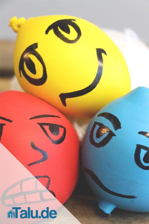 Knetball Anti Stress Ball Selber Machen Diy Anleitung Squishy