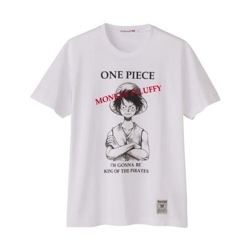 Uniqlo One Piece Collaboration T Shirt Luffy Foe Mens Uniqlo Print T Shirt T Shirt