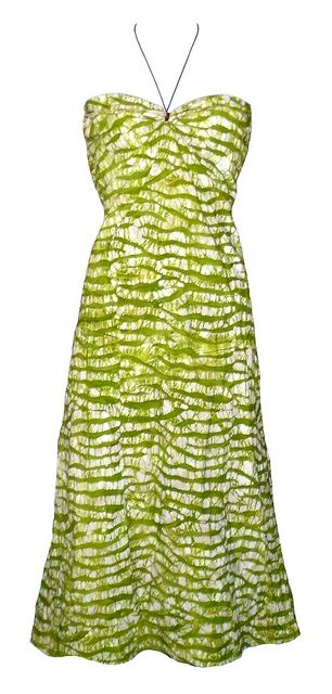 Lime Green Dress\