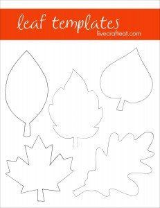 Fall Leaf Crafts & Activities For Kids #leafcrafts