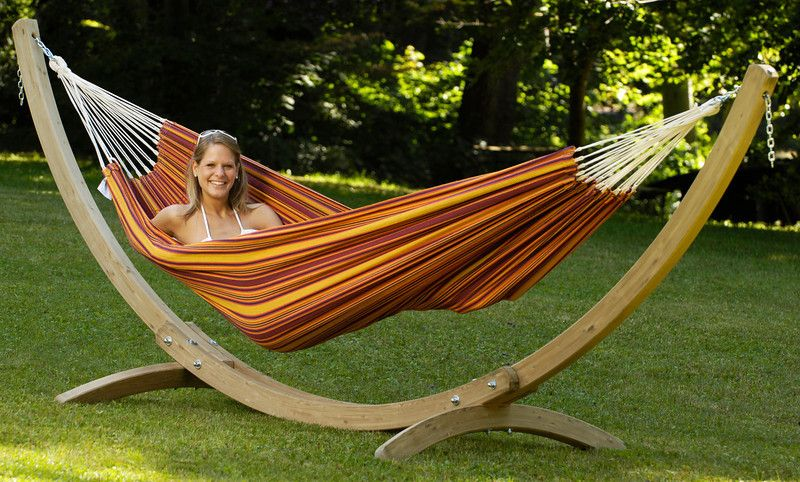 byer of maine olymp wood hammock stand   you can trust the folks at byer of maine to provide a hammock stand as sturdy as ever  the byer of maine olymp wood     barbados hammock with olymp stand    amazonas hammocks   pinterest  rh   pinterest