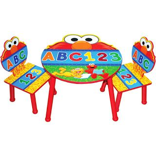 Elmo Chairs With Round Table