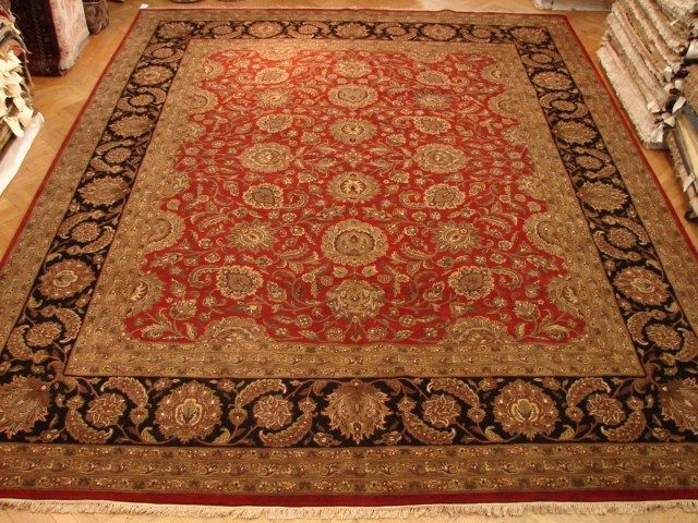12x15 Quality Jaipur Rug Warm Red Black Jaipur Rugs Warm Red Black And Red