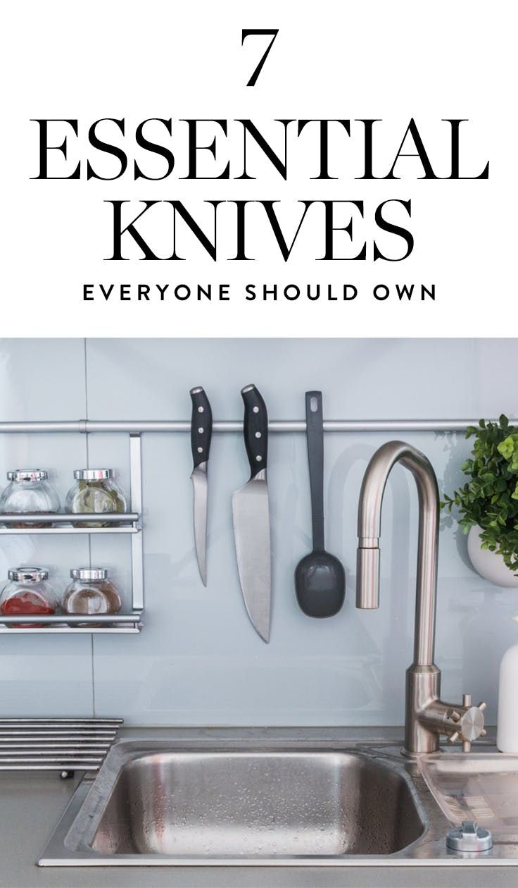 7 Essential Knives Every Home Chef Should Own   Food/Recipes/Cooking ...