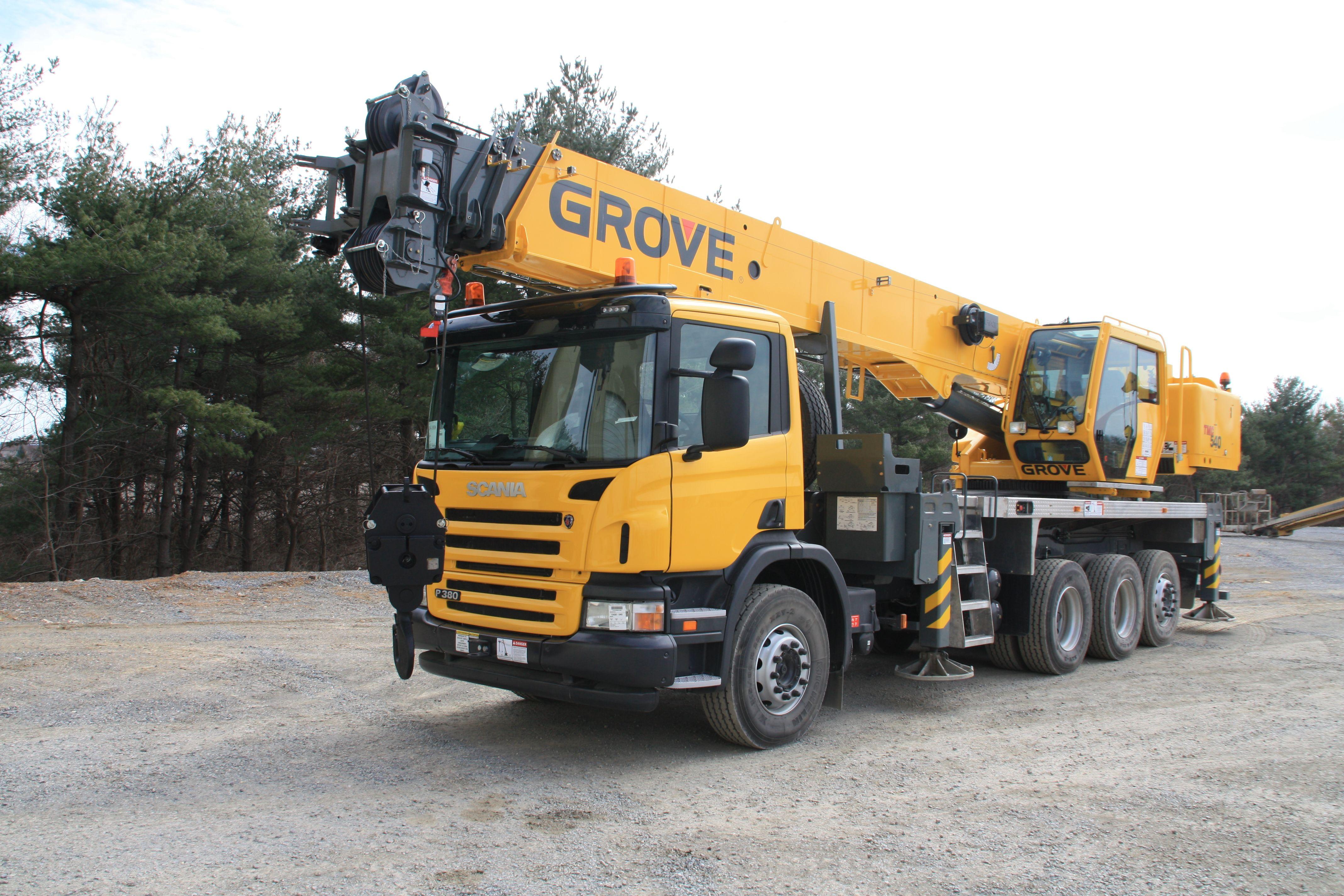 Grove 540 Scania Mobile Crane Proiecte De Ncercat