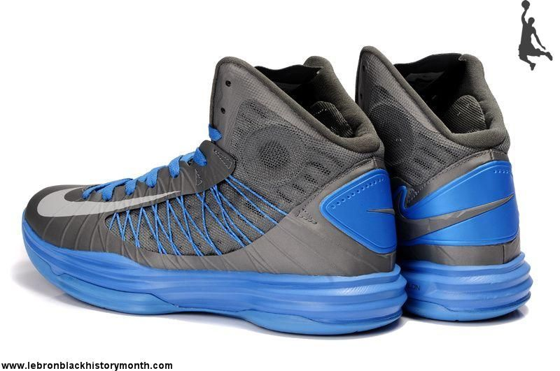 Nike+Basketball+Shoes | ... Shoes Nike Lunar Hyperdunk 2013 Cool Grey