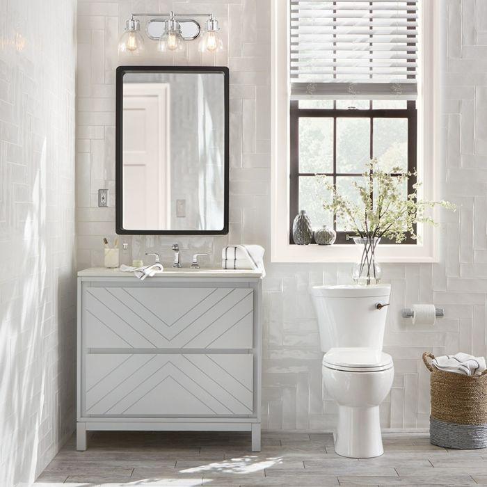 1001 + Badezimmer Ideen für kleine Bäder zum Erstaunen   Badezimmer, Platzsparende badezimmer ...
