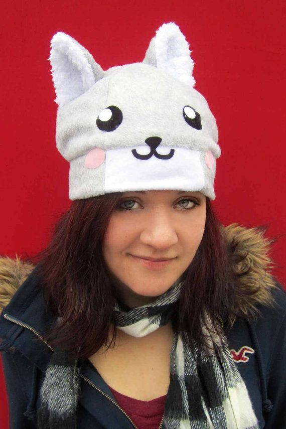 wolf hat by AthenasWink on Etsy, $20.00