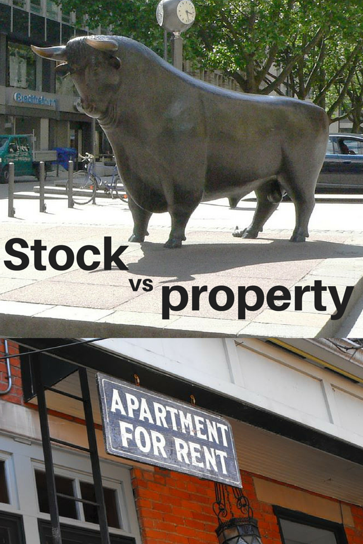 should i invest in property or stocks