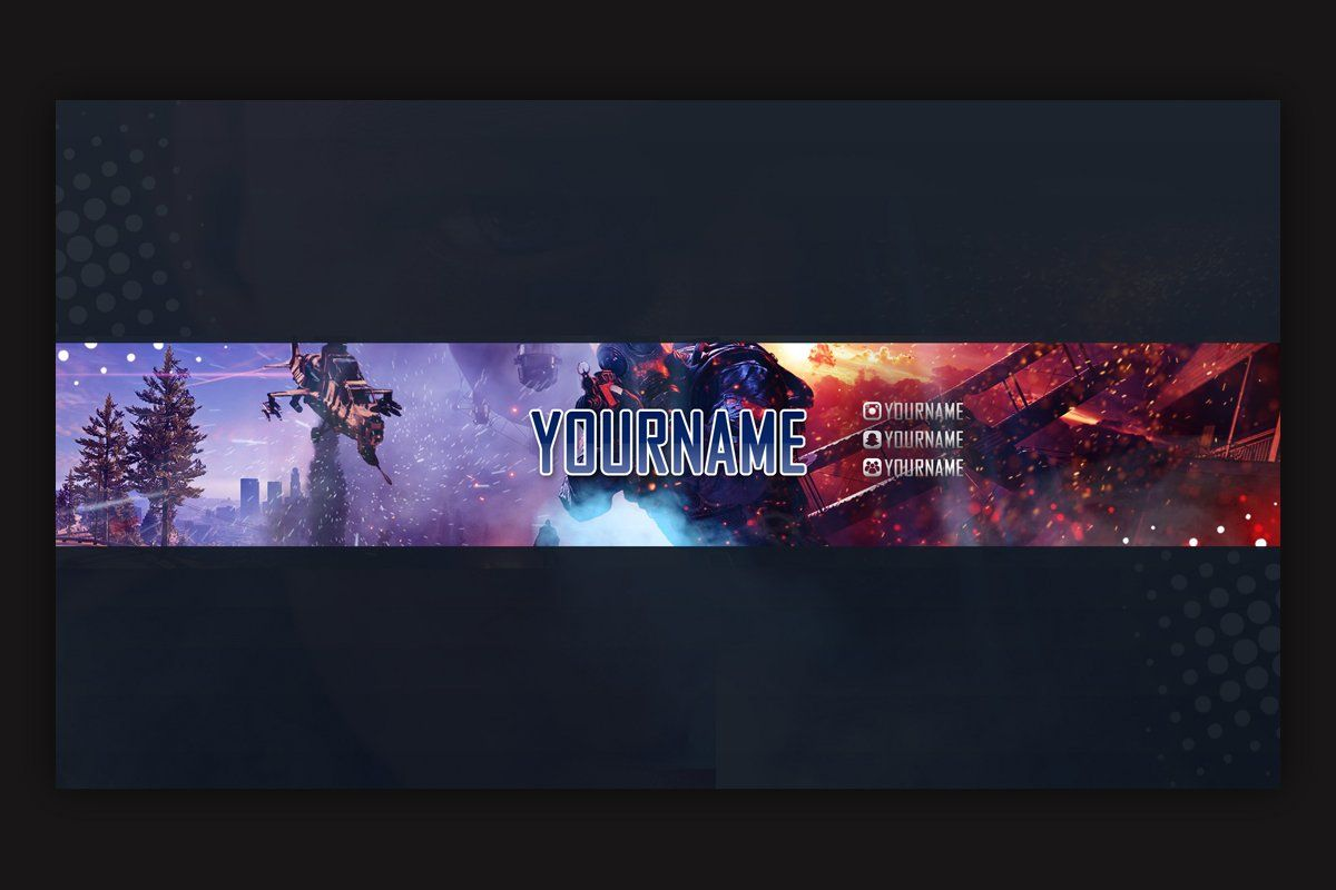 10 Gaming Youtube Banner Template Youtube Banner Template Youtube Banners Banner Template