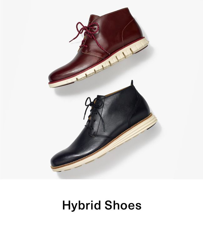 Hybrid Shoes - The Sporty Dress Shoe for Men