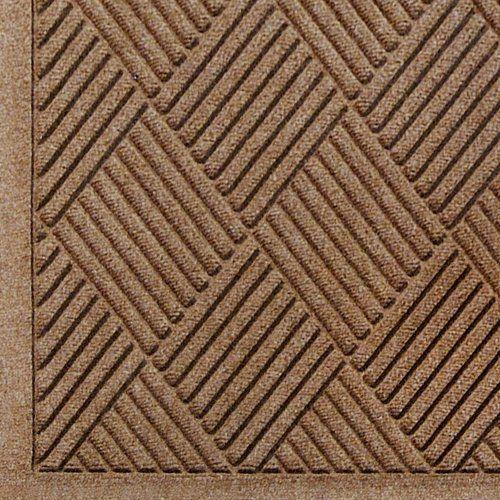 Indoor//Outdoor Floor Mat 8 Length x 3 Width WaterHog Commercial-Grade Entrance Mat Charcoal by M+A Matting