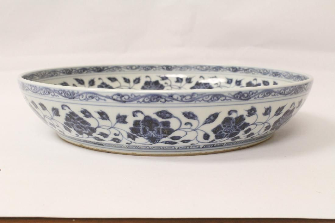 Lot Chinese Blue And White Plate Lot Number 0497 Starting Bid 30 Auctioneer International Auction Gallery Auction Chinese Amp Japanese Antiques P 磁器